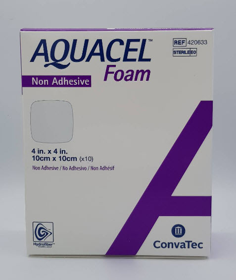 Aquacel Foam Non Adhesive 10x10 cm [420633]