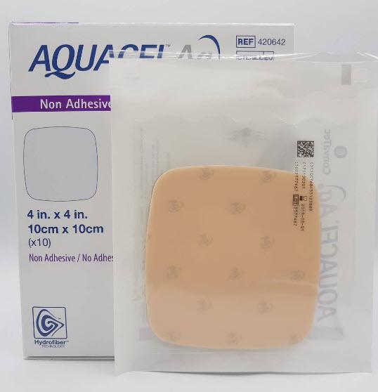Aquacel Foam Ag+ Non Adhesive 10x10 cm [420642]