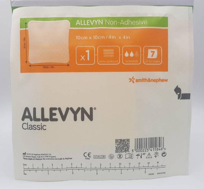 Allevyn Classic Non-Adhesive 10X10 CM