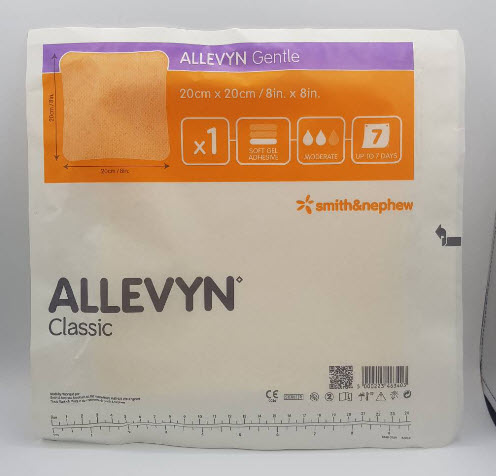Allevyn Gentle Non Adhesive 20x20 cm (31/01/2021)