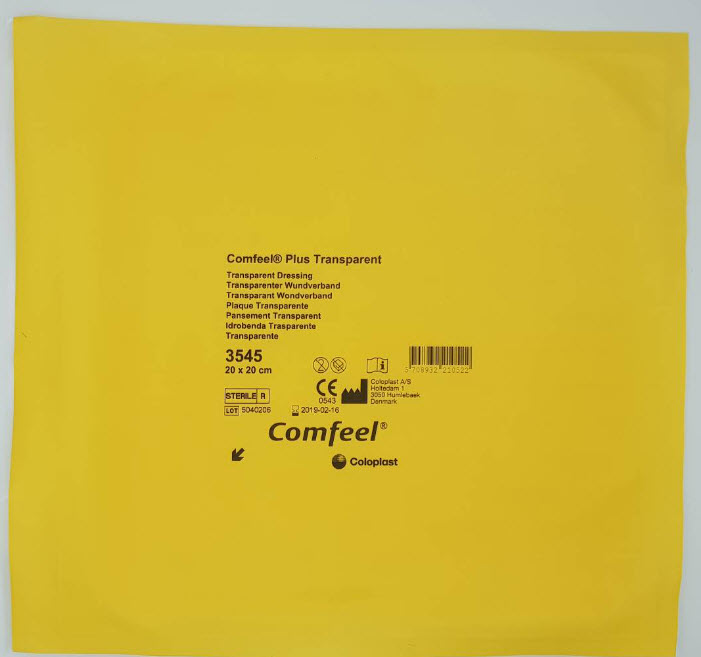 Comfeel Plus Transparent 20x20 cm [Coloplast]