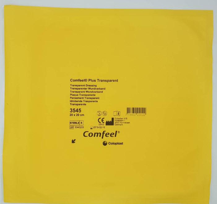 Comfeel Plus Transparent 20x20 cm [Coloplast]