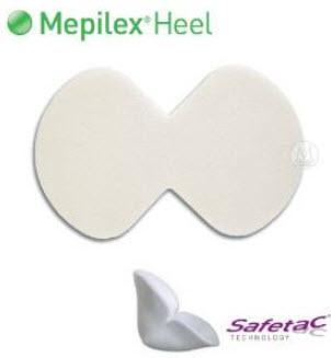 Mepilex Heel 13x20 cm สำหรับแผลที่ส้นเท้า