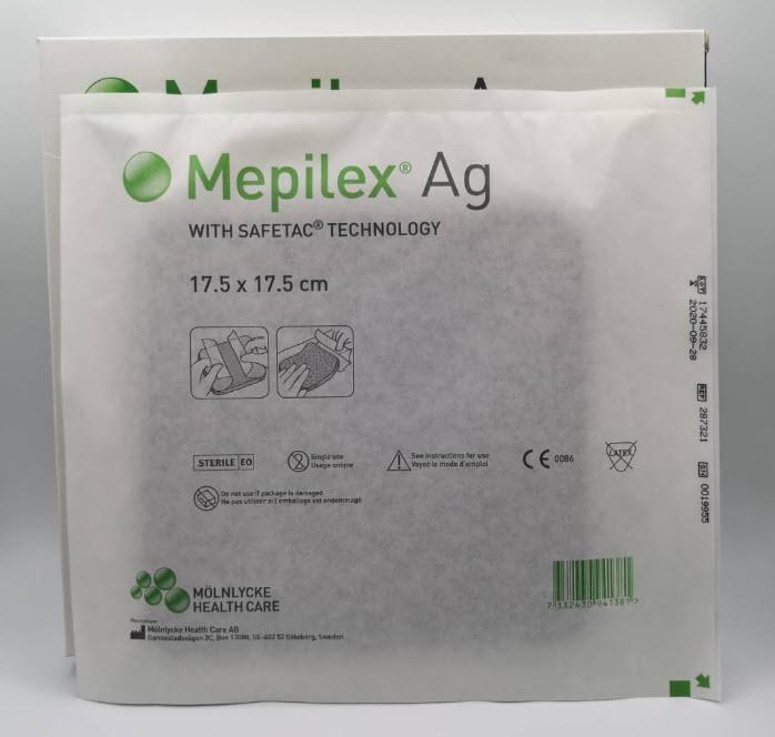 Mepilex Ag 17.5x17.5 cm