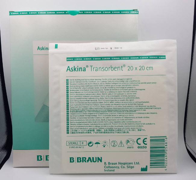 Askina Transorbent 20x20 cm (exp 12-2022)