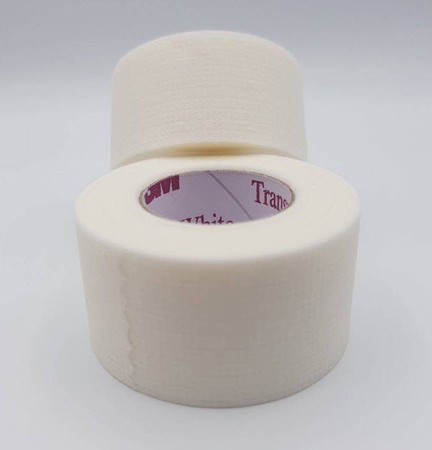 3M Transpore White สีขาว ขนาด 1 นิ้ว (ขายแยก)
