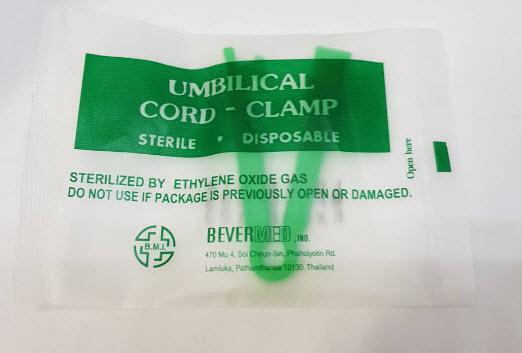 Umbilical Cord Clamp คลิปหนีบรก