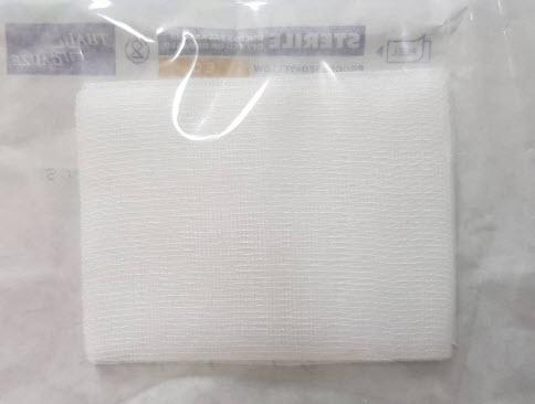 ผ้าก๊อซพับปลอดเชื้อ 2x2 นิ้ว (10ชิ้น/ซอง) (ThaiGauze)