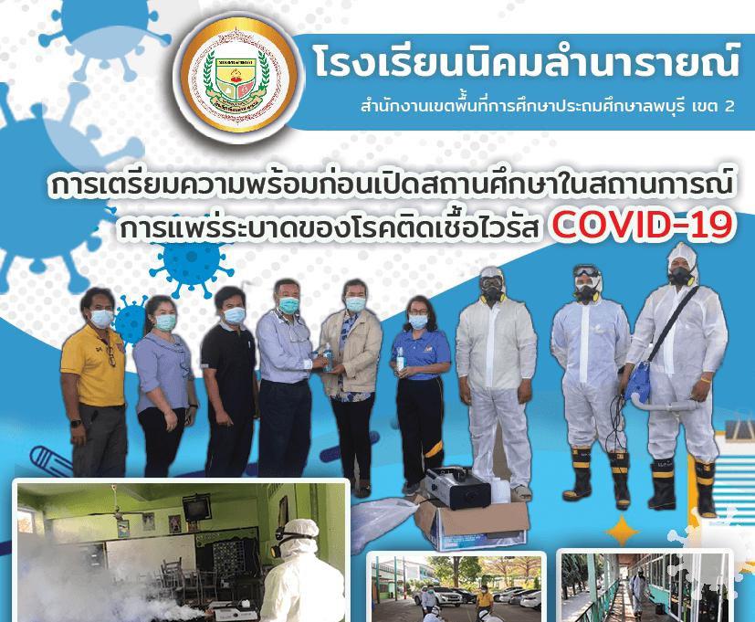 การเตรียมความพร้อมก่อนเปิดสถานศึกษาในสถานการณ์การแพร่ระบาดของโรคติดเชื้อไวรัส COVID-19