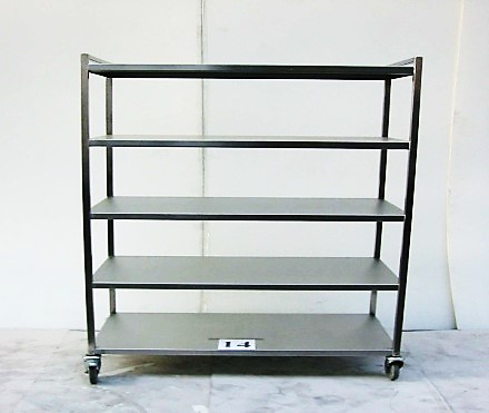 5-TIER MOBILE PLAIN SHELF