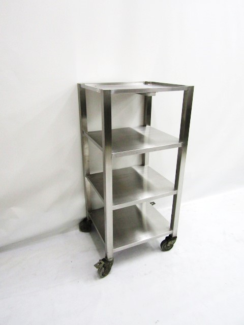 MOBILE DIRTY DISH TROLLEY