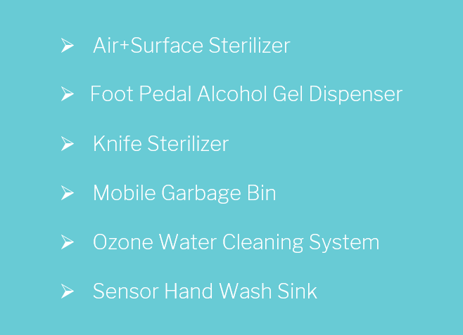 Cleaning & Sanitizing Equipment Category