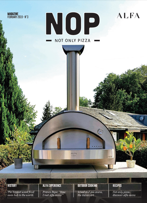 NOP Pizza Oven from Alfa Forni