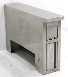WORK COUNTER WITH ELECTRIC COMPARTMENT