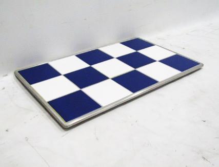 1/1 GN HOT TILE, BLUE & WHITE