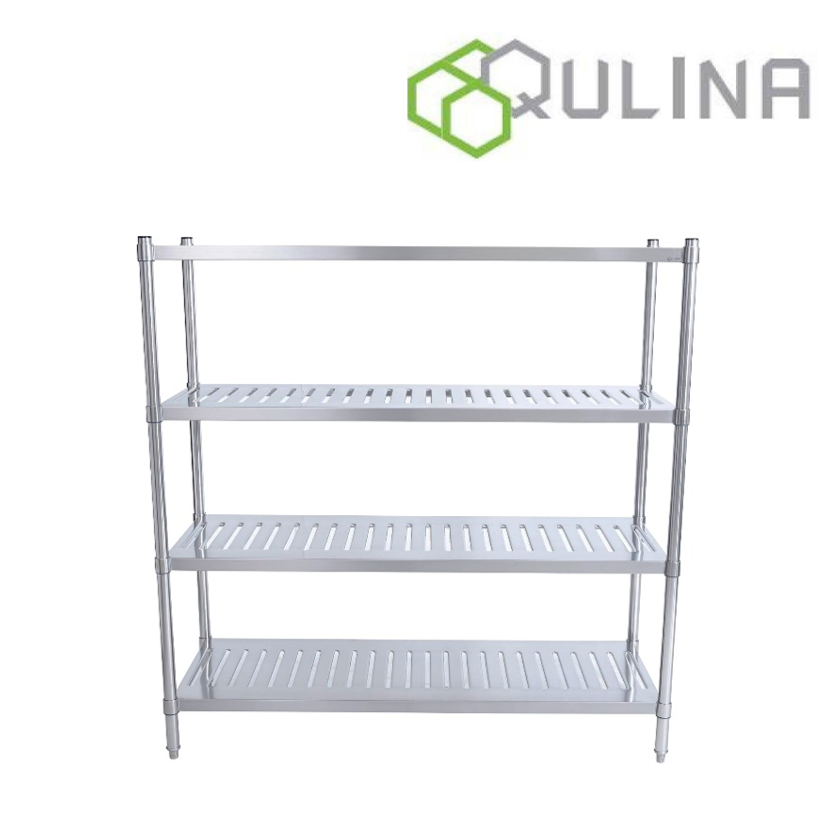 QULINA SS Knock Down Slotted Shelf