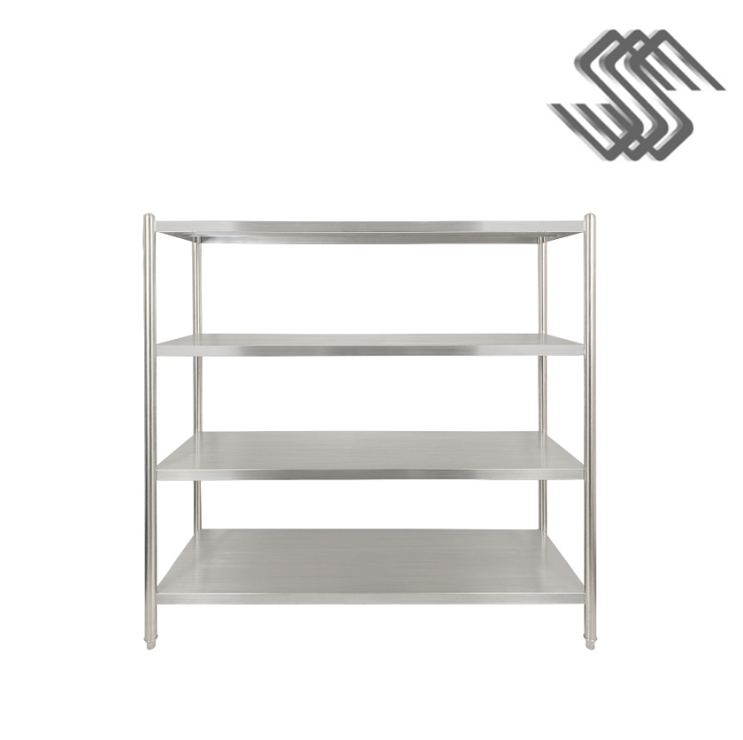 SS 4-Tier Rack Plain Shelf