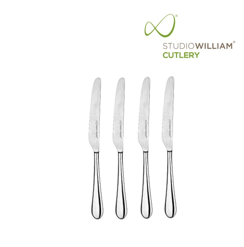 STUDIO WILLIAM MULBERRY MIRROR BUTTER KNIFE 172MM