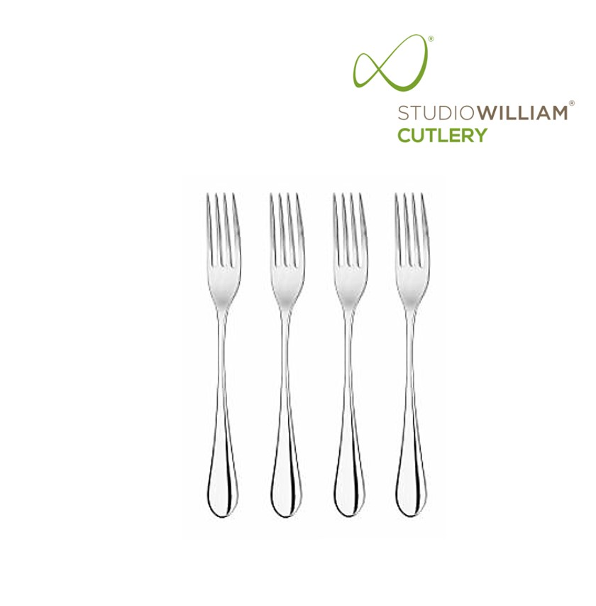 STUDIO WILLIAM MULBERRY MIRROR APPETIZER FORK 150MM