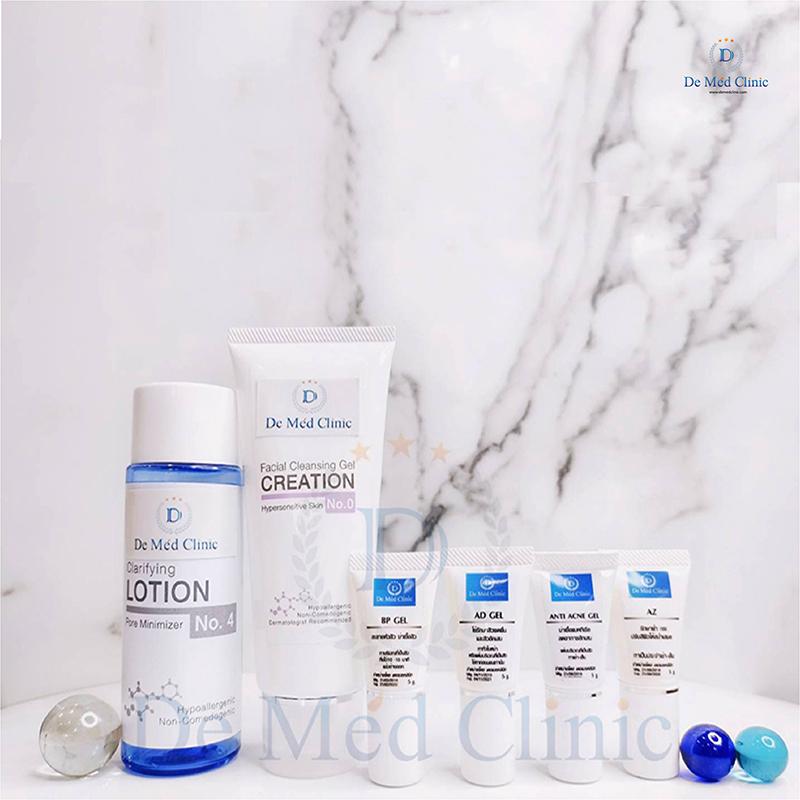 Premium Acne Care Set เวชสำอางคุณภาพ ดูแลสิว รอยสิว set 6 ชิ้นที่ Demedclinic