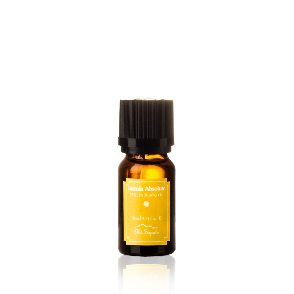 Jasmine Absolute, 25%, in Jojoba Oil, 10ml.