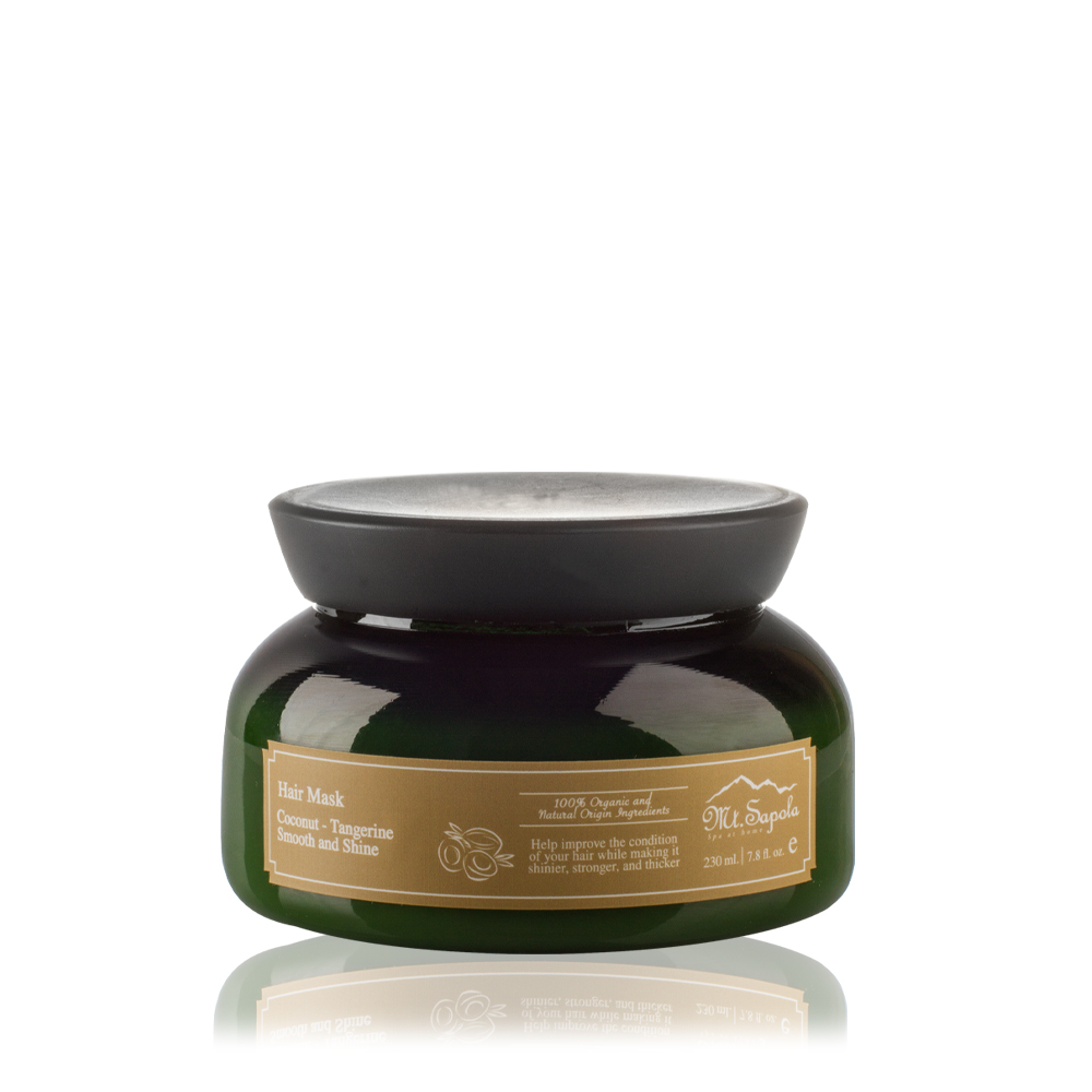 Coconut-Tangerine Smooth and Shine Hair Mask