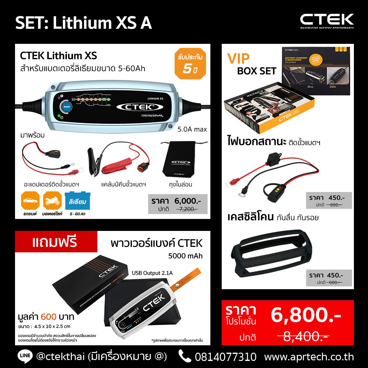 SET Lithium XS A (Lithium XS + Indicator Eyelet + Bumper)