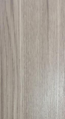 ประตูUPVC ผิวหน้าลายไม้ สีSilverGray บานเรียบ