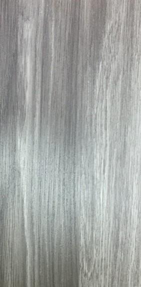 ประตูUPVC ผิวหน้าลายไม้ สีSmokyGrey บานเรียบ