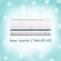 MITSUBISHI (Super Inverter) รุ่น MSY-GT24VF ขนาด 22,519 BTU สินค้าใหม่ปี 2021