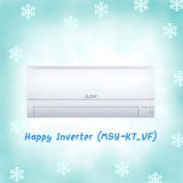 MITSUBISHI Happy Inverter MSY-KT18VF ขนาด 17,742 BTU สินค้าใหม่ปี 2020