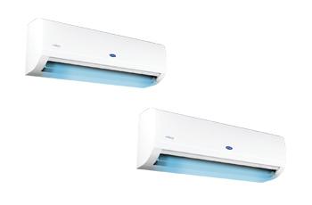 แอร์ Carrier Gimini Inverter รุ่น 42TEVGB010 ขนาด 8,784 BTU (R32)  สินค้าใหม่ปี 2021