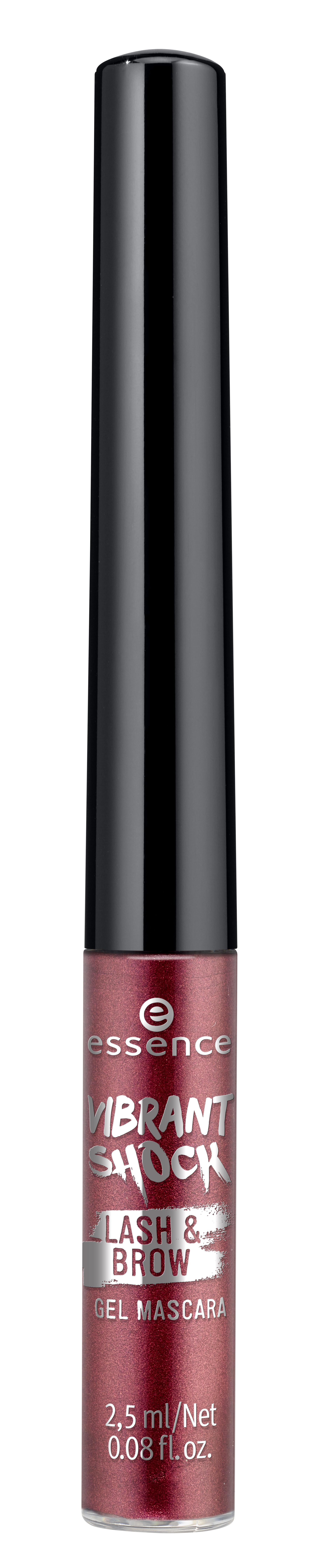 ess. vibrant shock lash & brow gel mascara 01