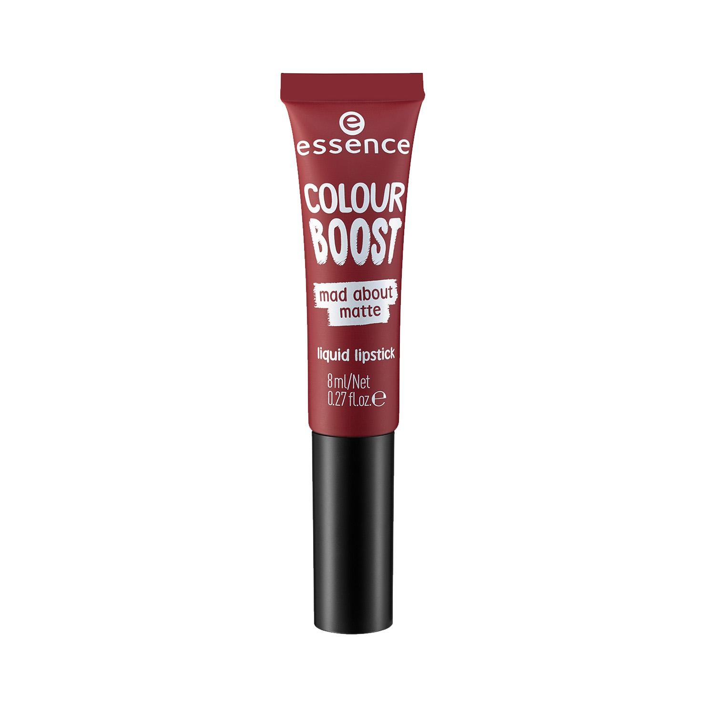 ess. colour boost mad about matte liquid lipstick 09