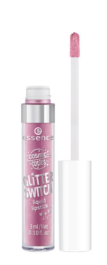 ess. cosmic cuties glitter switch liquid lipstick 01