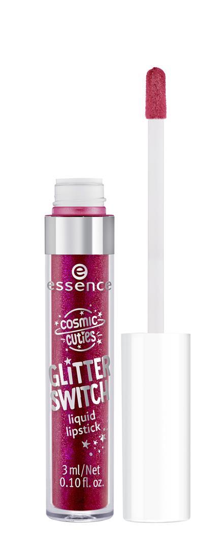 ess. cosmic cuties glitter switch liquid lipstick 03