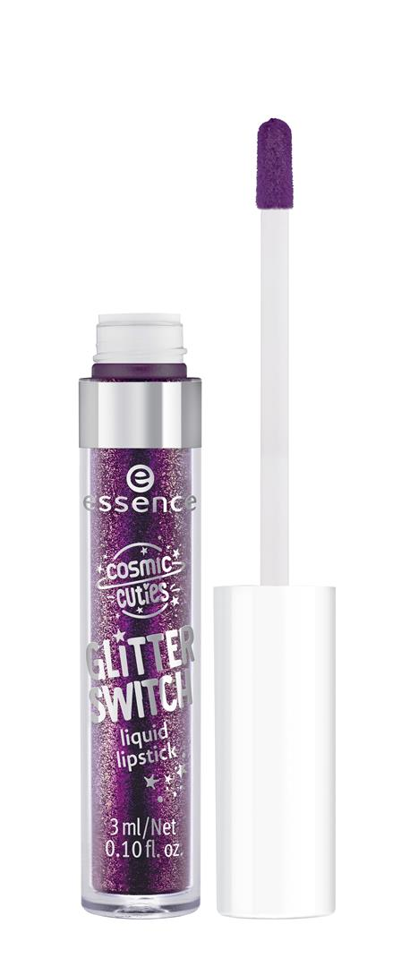 ess. cosmic cuties glitter switch liquid lipstick 04