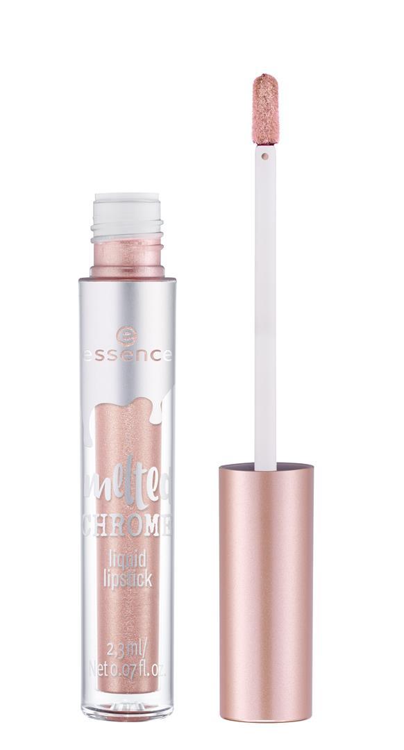 ess. melted chrome liquid lipstick 01