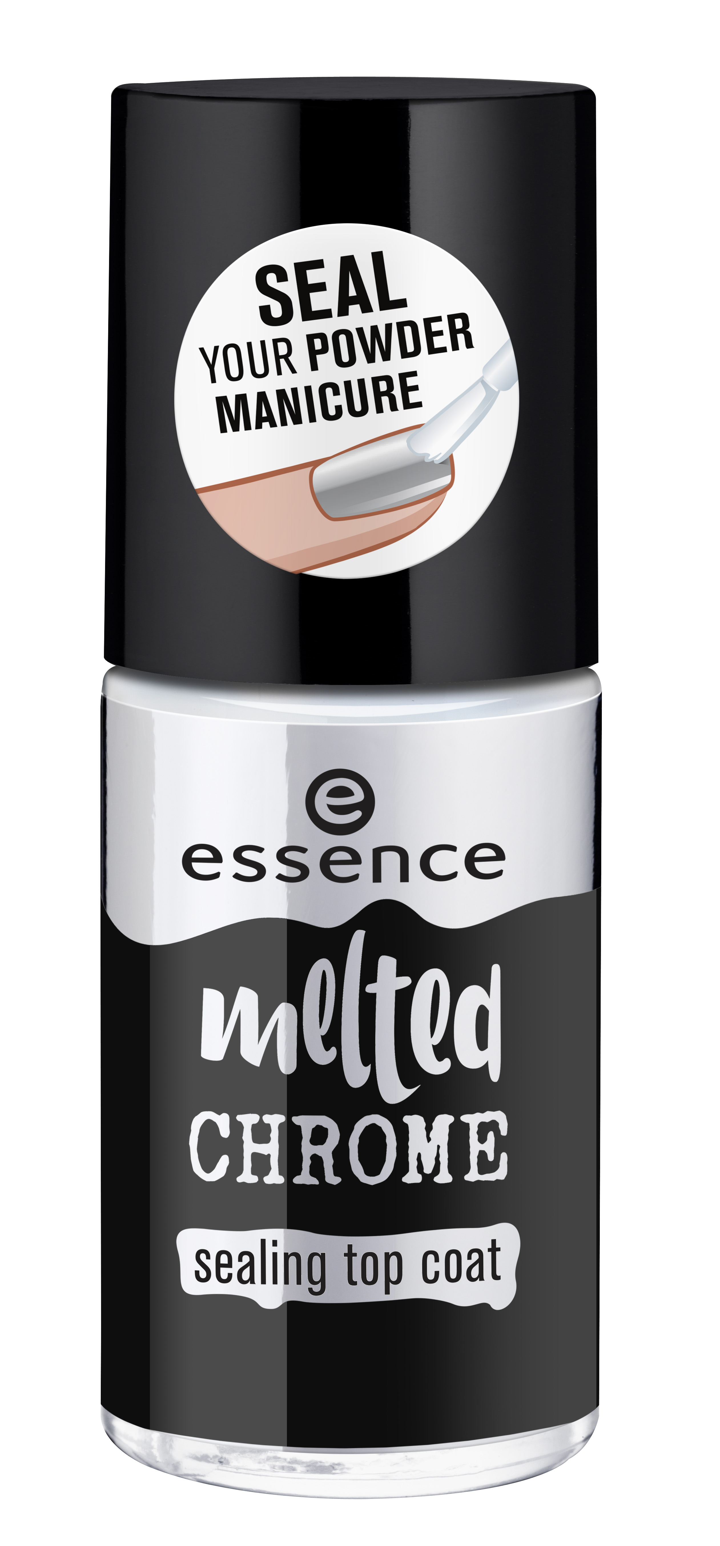 ess. melted chrome sealing top coat