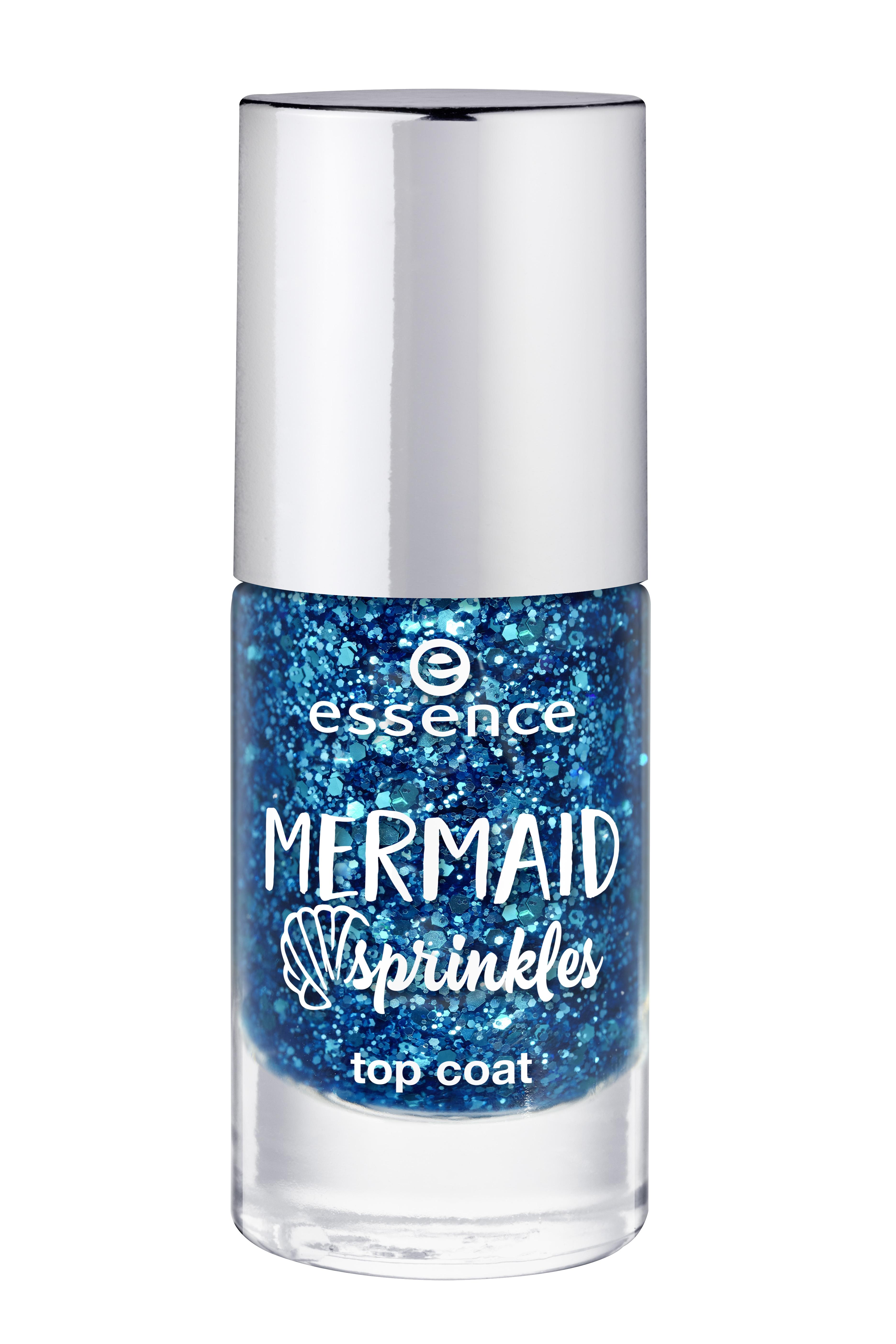 ess. mermaid sprinkles top coat 38