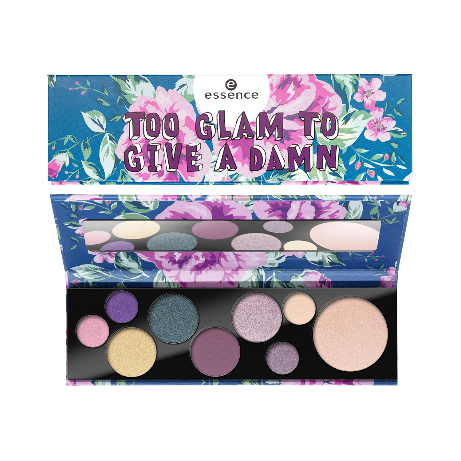 ess.too glam to give a damn eye&face palette