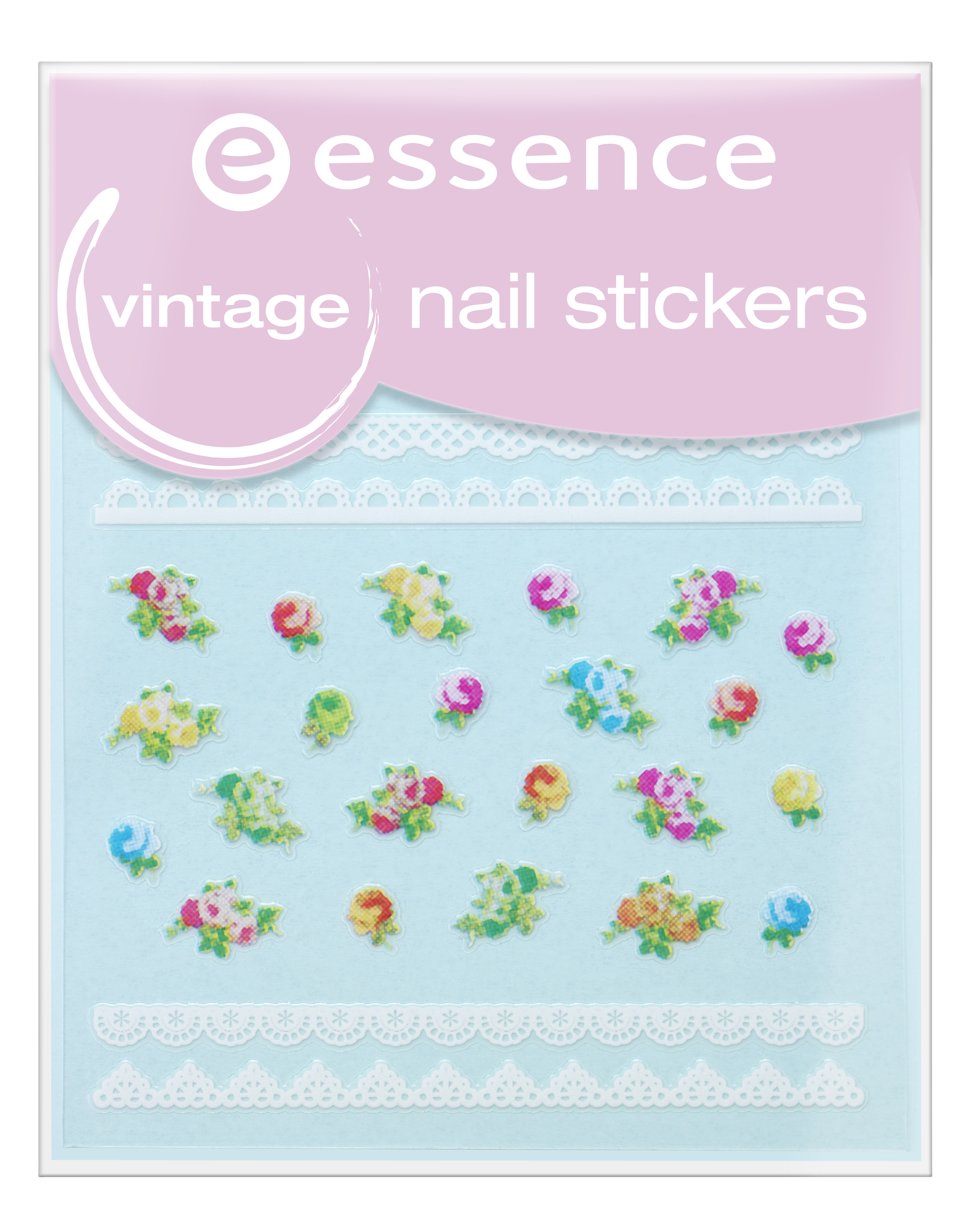 vintage nail stickers 17