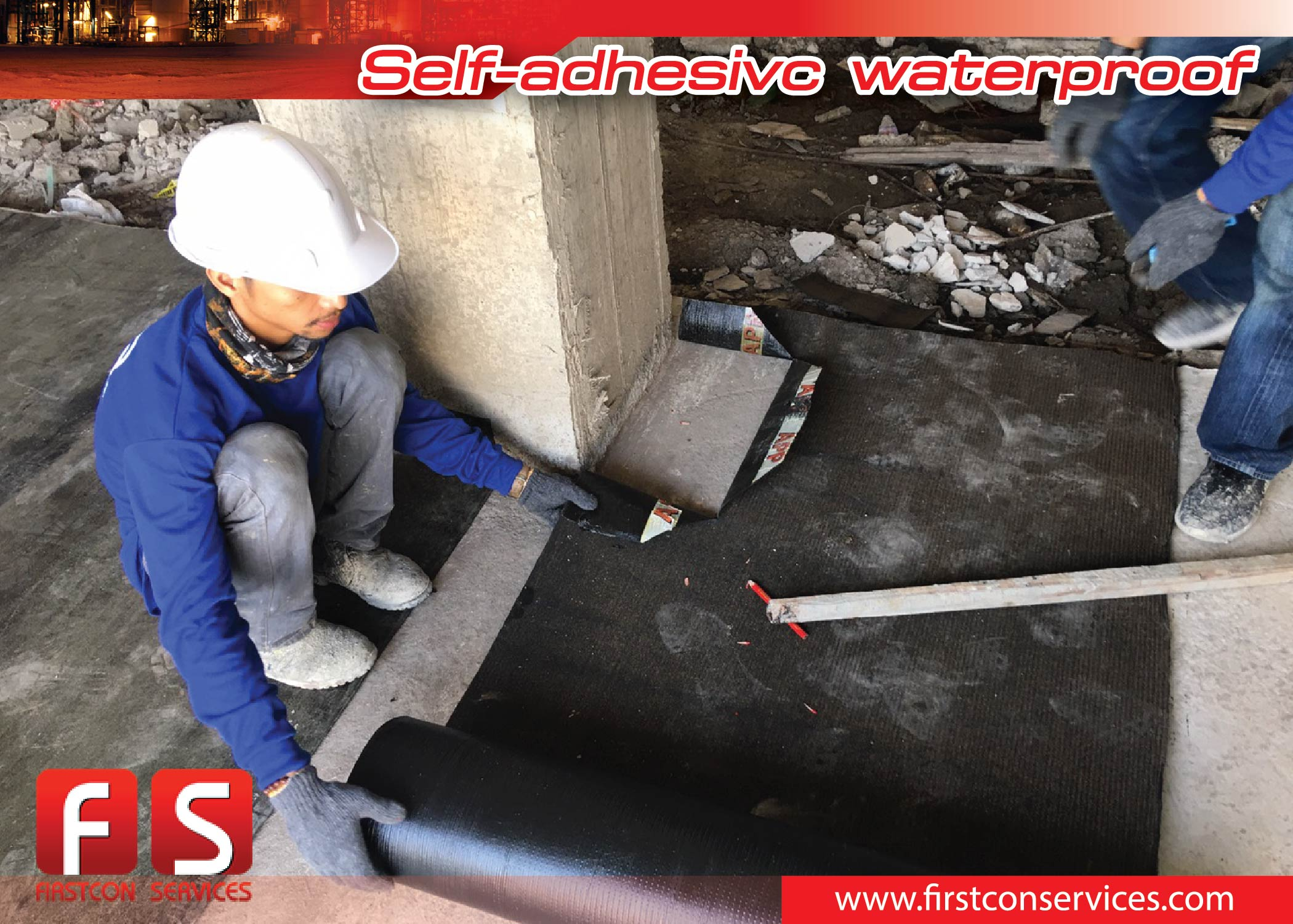 Self-adhesivc waterproof showroom Empire Stone