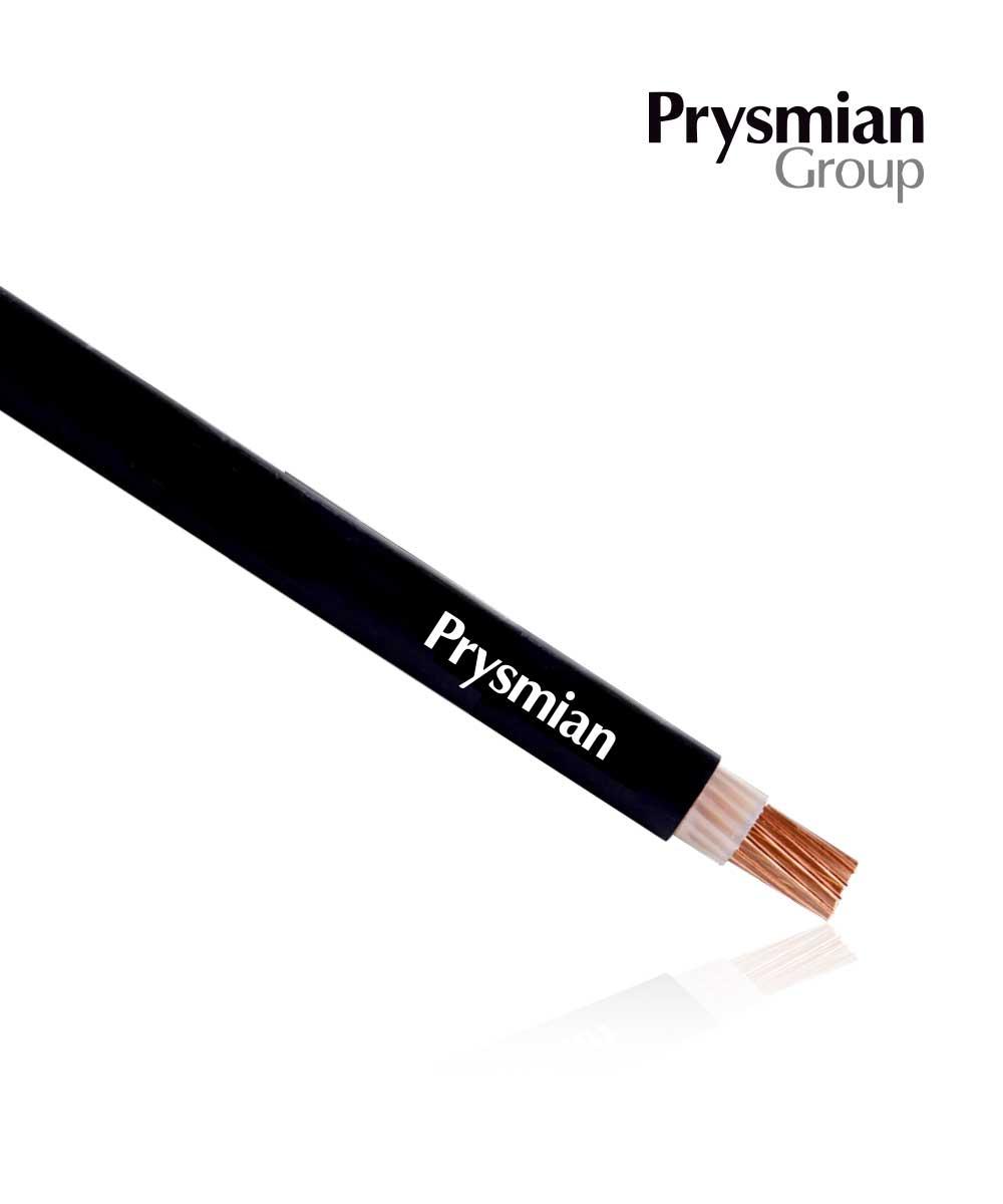 PV Cable PRYSMIAN H1Z2Z2-K 1CX6 Sq.mm. Black