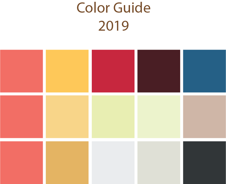 Color guide 2019