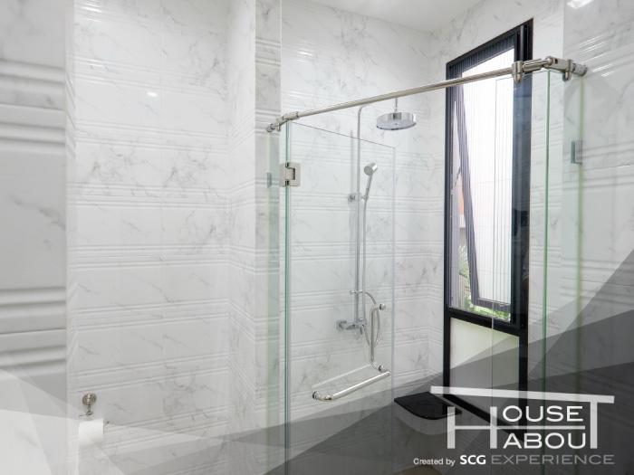 ทำไมห้องน้ำส่วนใหญ่มักเลือกใช้หน้าต่างบานกระทุ้ง