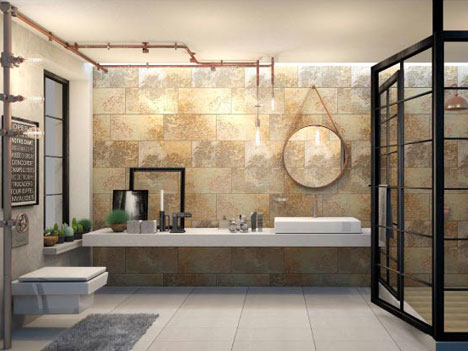 เลือกกระเบื้องเซรามิกสำหรับห้องน้ำให้ตอบโจทย์และปลอดภัย