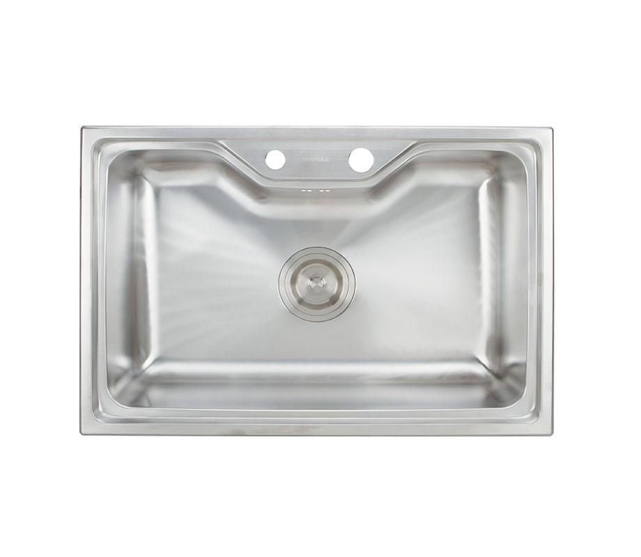 อ่างล้างจานแบบติดตั้งบนเคาน์เตอร์: อีริส ซีรี่ย์