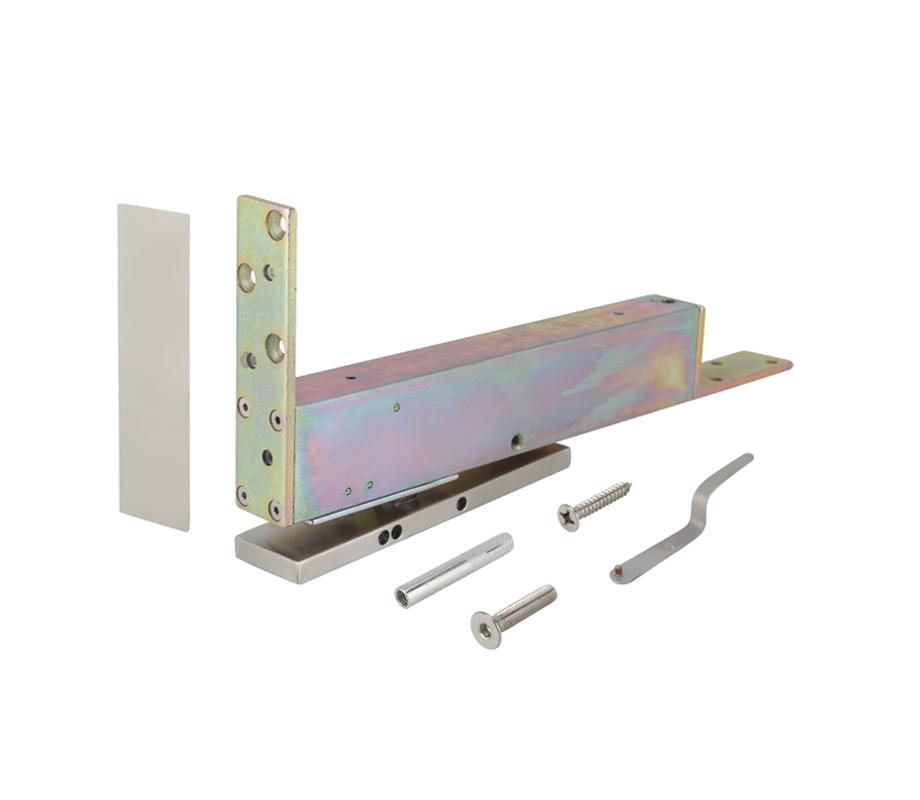 โช๊คประตูแบบฝังพื้นสำหรับประตูไม้