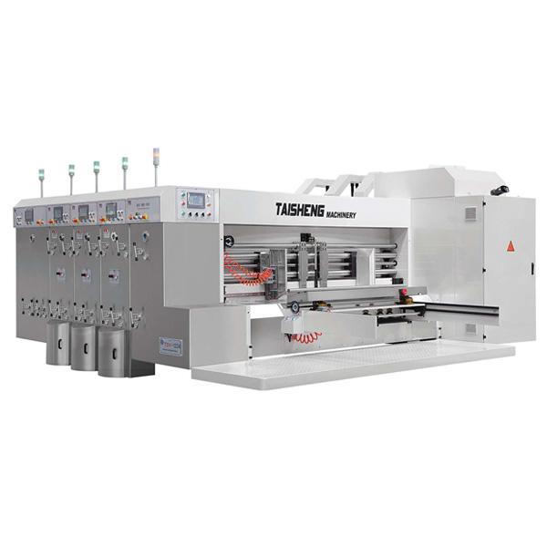 เครื่องพิมพ์กล่องกระดาษลูกฟูก TSV-2